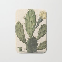 Herman Saftleven - Blooming prickly pear cactus (1683) Bath Mat
