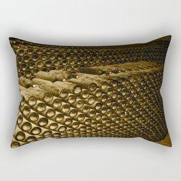 Vintage Wine Rectangular Pillow