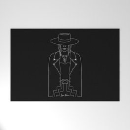 Lady Outlaw Welcome Mat