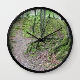 Forest Dunkeld Scotland Wall Clock