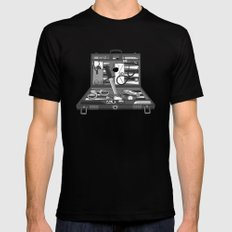 Lost Souvenirs Mens Fitted Tee MEDIUM Black