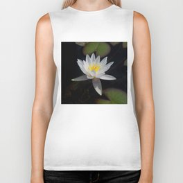 The white nymphaea Biker Tank