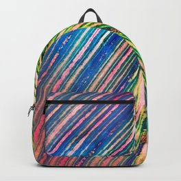 503 - Canna Leaf Abstract Backpack