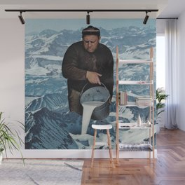 Milky Mountain Wall Mural