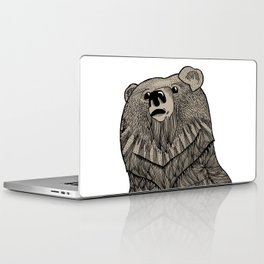 Beary Hairy Laptop & iPad Skin