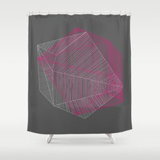 Shapes N Stripes Shower Curtain