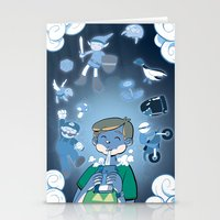 video games Stationery Cards featuring Classic Video Games by Scott Hallett
