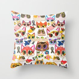 Dibujitos de Denise (Oficial) Throw Pillow