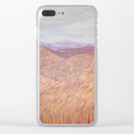Mindscape Series Three, Painting Two  Redding C.A Clear iPhone Case