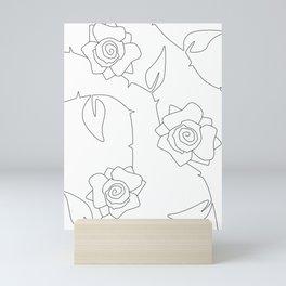 Rose Bush Mini Art Print