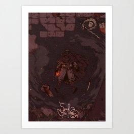 DARK SOULS II / SEEK THE KING \ Art Print