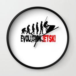Jet Ski Wall Clock