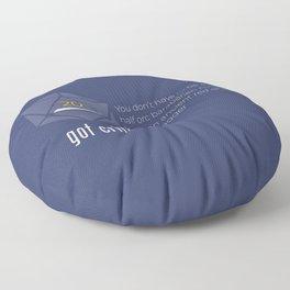 Got Crit? Floor Pillow