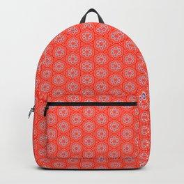 Hexafoil Pattern Backpack