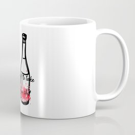 Don't Forget To Take Your Flu Shot Wine Bottle Coffee Mug