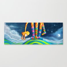 Striped Socks - Revisited Canvas Print