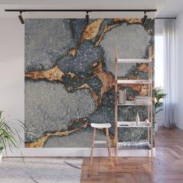 GEMSTONE GREY & GOLD Wall Mural