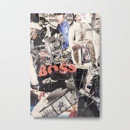 Les Gars (p.2) Metal Print