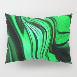 Green Abstract Design Pillow Sham