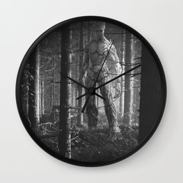 Walk in the Woods-Groots Wall Clock