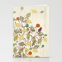 autumn Stationery Cards featuring Autumn by Kakel