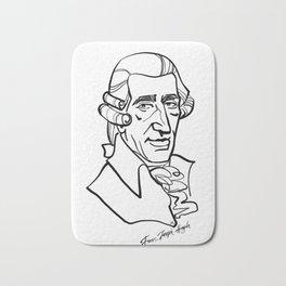 Franz Joseph Haydn Bath Mat