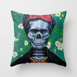 2 de noviembre Throw Pillow