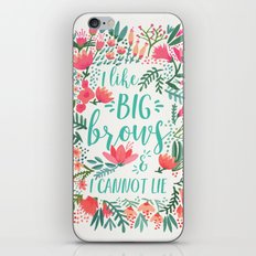 Big Brows – Juicy Palette iPhone & iPod Skin