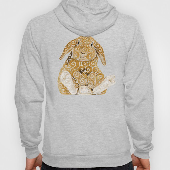 Swirly Bunny Hoody