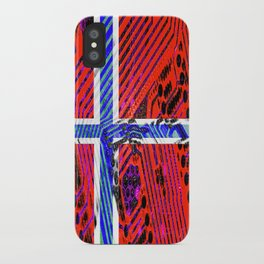 circuit board Norway (Flag) iPhone Case
