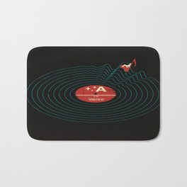 Soundwaves Bath Mat