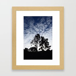 Montana D'oro clouds Framed Art Print
