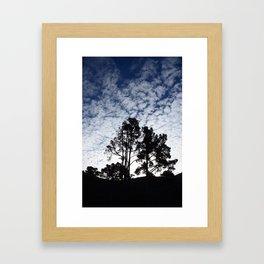 Montana D'oro clouds Framed Art Print