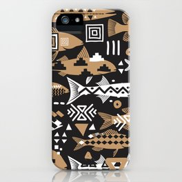 Boho Fishes II. iPhone Case