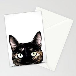 Peeking Cat Stationery Cards