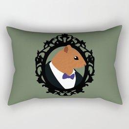 Dapper Squirrel Rectangular Pillow