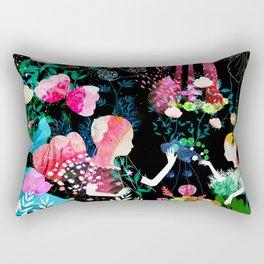 cosmic garden Rectangular Pillow