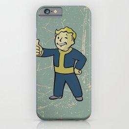 Vault Boy - fallout 4 iPhone Case