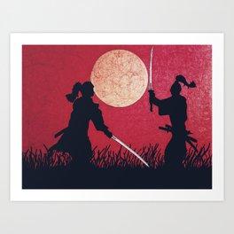 Samurai showdown Art Print