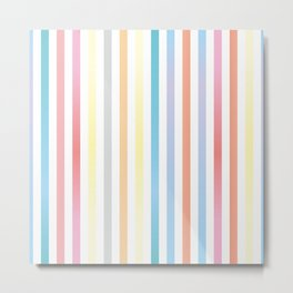 Colorful Stripes Metal Print