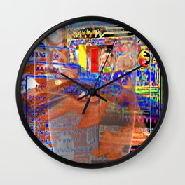 Glass Of Milk [A Simple Contstraint Series] Wall Clock