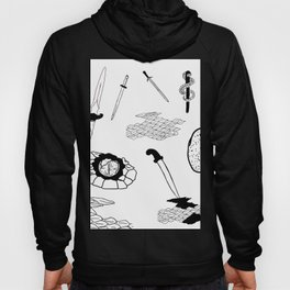 Daggers & Snakes Flash Tattoo Version Hoody