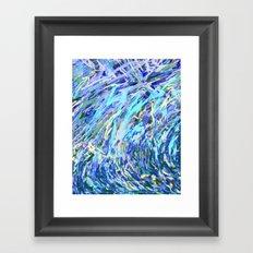 Static 17-A Framed Art Print