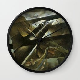 Rough Flight by T. Crali Wall Clock
