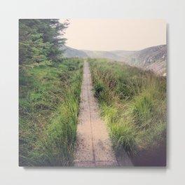 path before me Metal Print