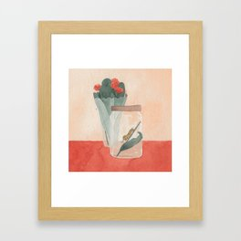 caterpillar Framed Art Print