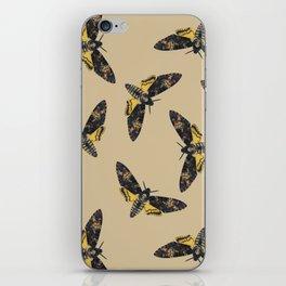 Death's-head hawkmoth iPhone Skin
