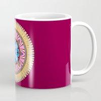 spires Mugs featuring Castle Spires, kaleidoscope by designoMatt
