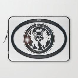 MI6 Oval Badge (Millitary Intelligence Section 6) Laptop Sleeve