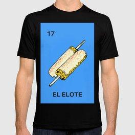 El Elote Funny Parody Mexican Loteria Bingo Card T-shirt